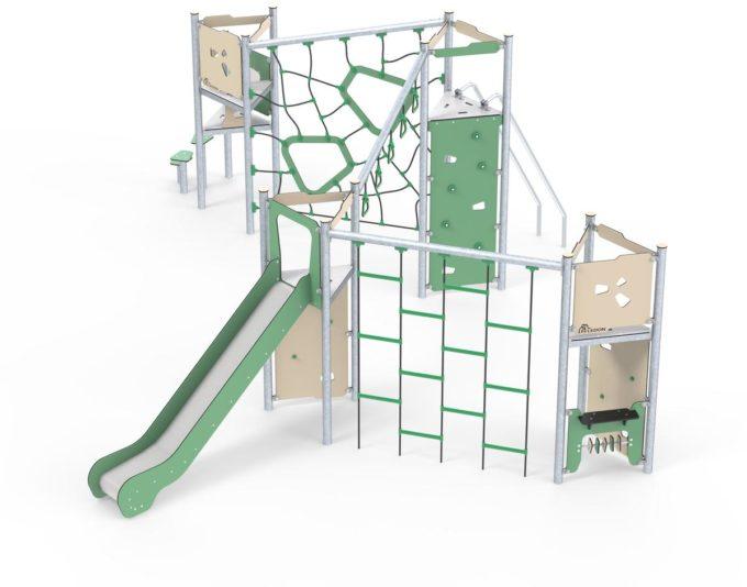 Große Kletter-Spielanlage Brandon - LEDON Basic - LB450 12