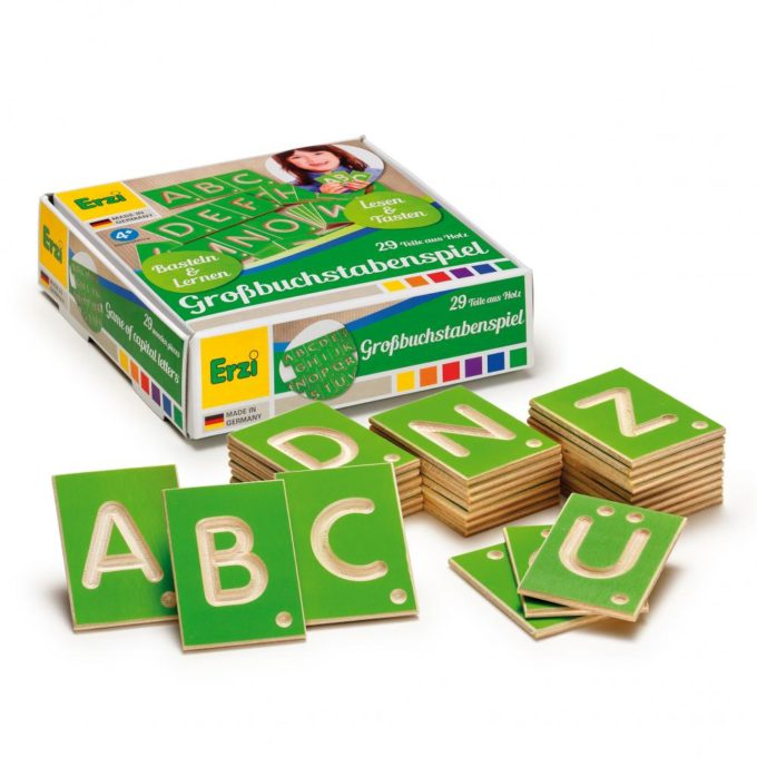 Erzi Lernspiel Großbuchstaben 1