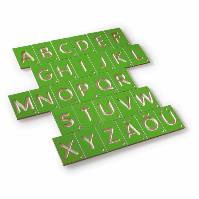 Erzi Lernspiel Großbuchstaben 2