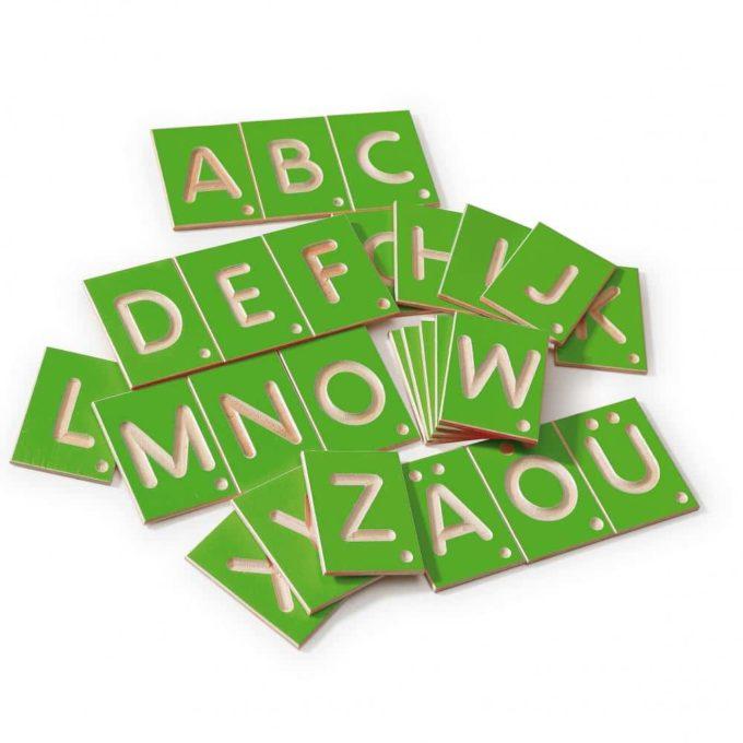 Erzi Lernspiel Großbuchstaben 3
