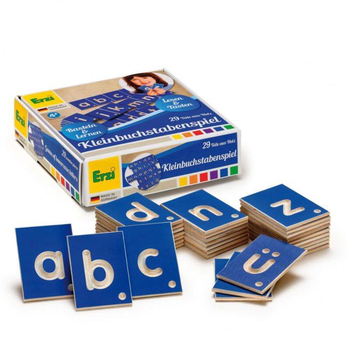 Erzi Lernspiel Kleinbuchstaben 1