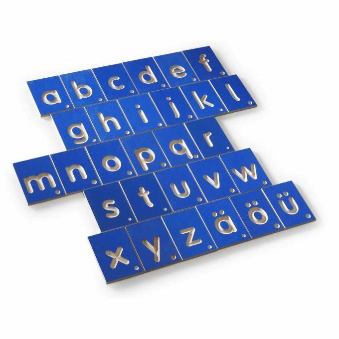 Erzi Lernspiel Kleinbuchstaben 2