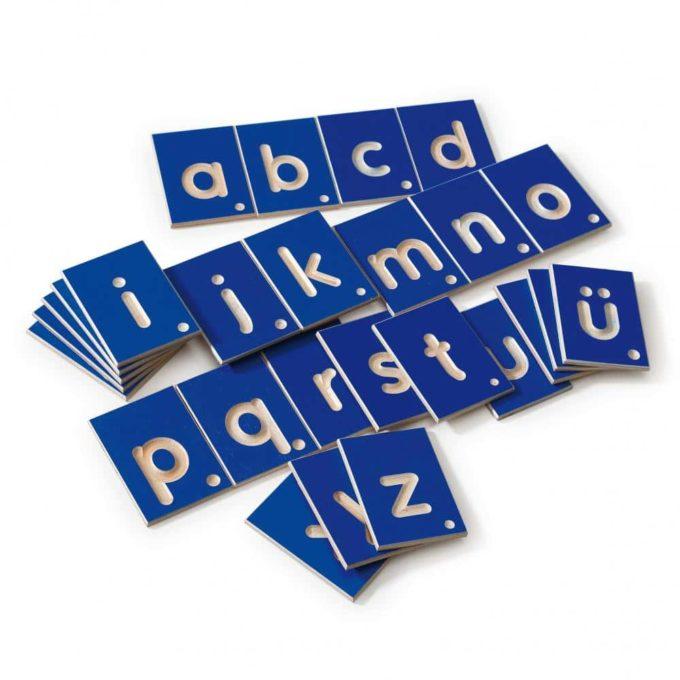 Erzi Lernspiel Kleinbuchstaben 3
