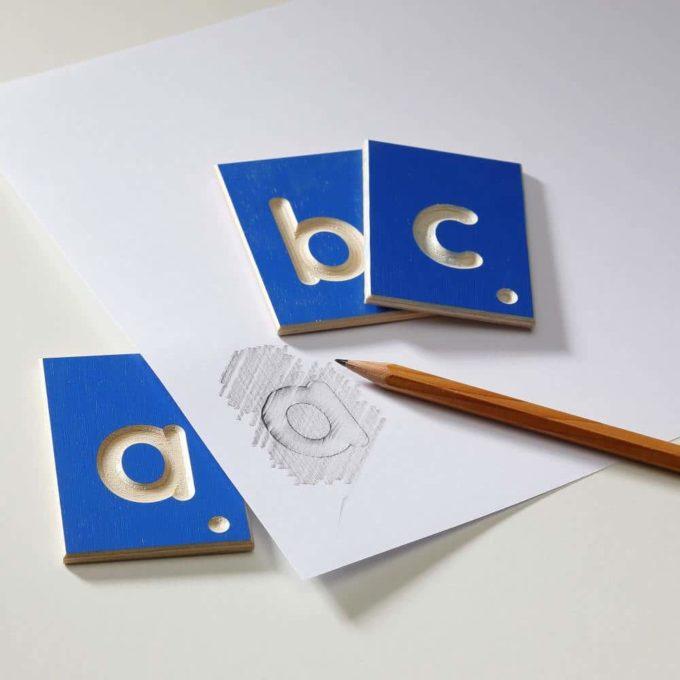 Erzi Lernspiel Kleinbuchstaben 4