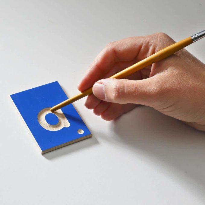 Erzi Lernspiel Kleinbuchstaben 6