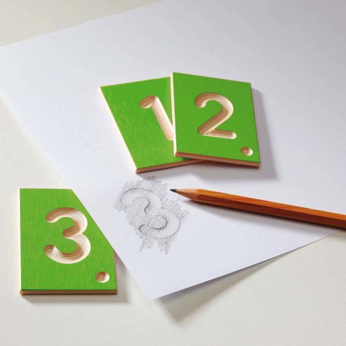 Erzi Lernspiel Zahlen 4