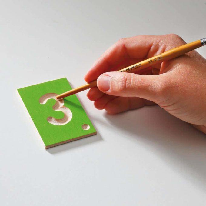 Erzi Lernspiel Zahlen 6