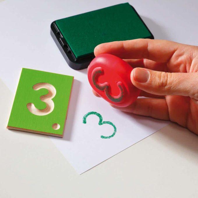 Erzi Lernspiel Zahlen 7