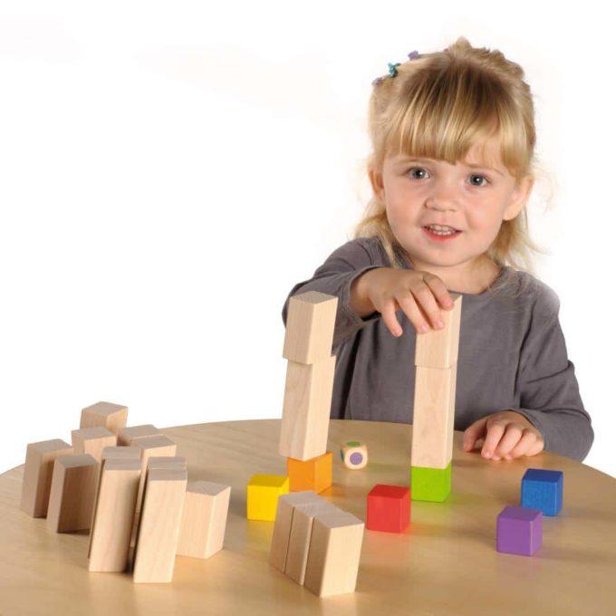 Erzi Spiel Tricky Blocks 2
