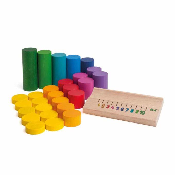 Erzi Lernspiel Zahlenraum bis 10 1