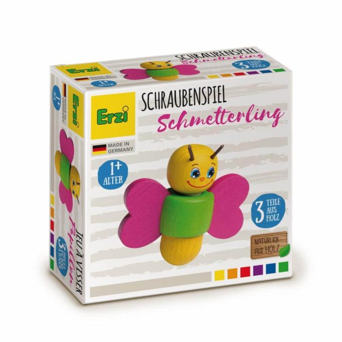 Erzi Schraubenspiel Schmetterling 3