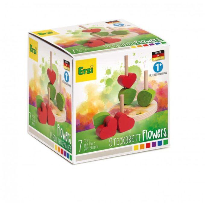 Erzi Steckbrett Flowers 4