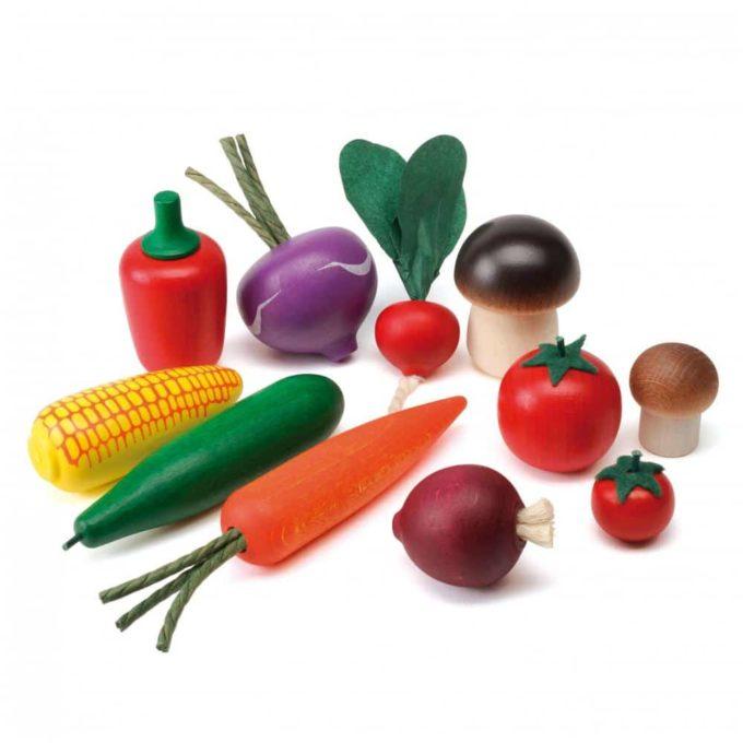 Erzi Logopädiesortierung Gemüse 1