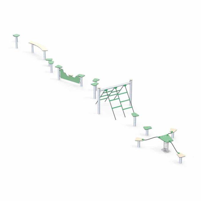 Hindernisparcours in verschiedenen Formen - LEDON Basic 4