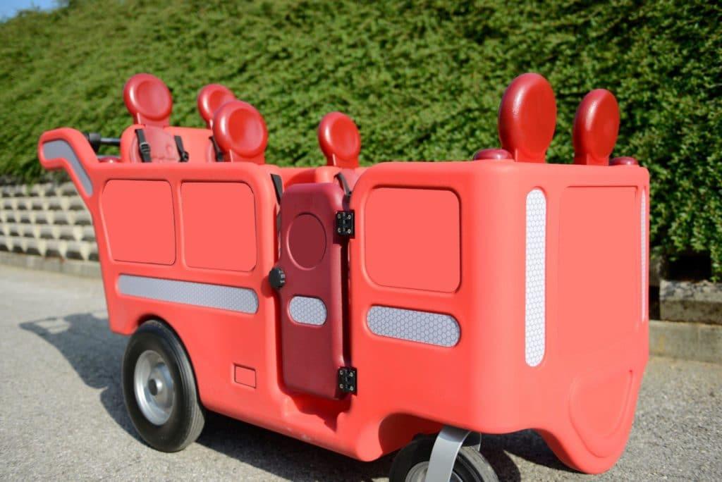 Italtrike Kinderbus 6-Sitzer - Espresso 12