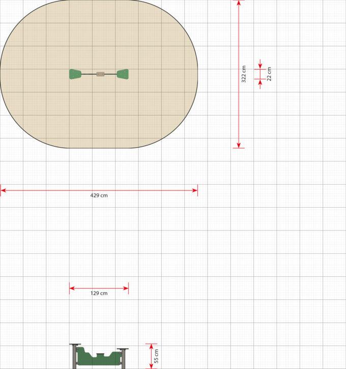 Schwebebalken Boomer - LEDON Basic - LB049 2