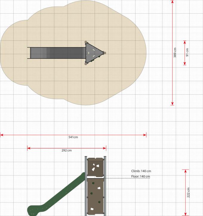Spielturm Bjork - LEDON Basic - LB120 5