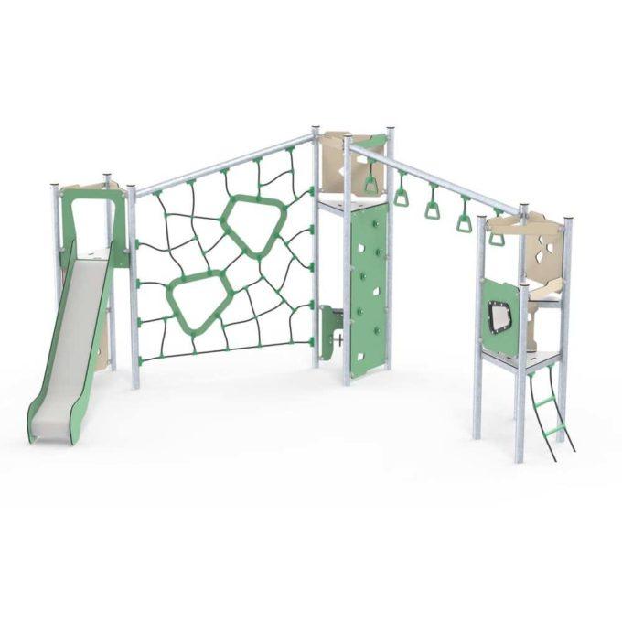 Große Kletter-Spielanlage Boris - LEDON Basic - LB350 1