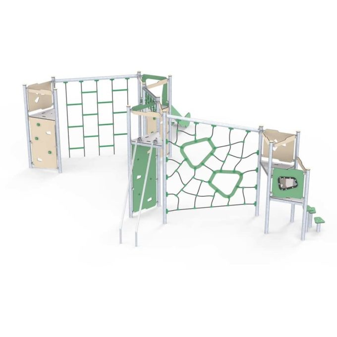 Große Kletter-Spielanlage Brandon - LEDON Basic - LB450 1