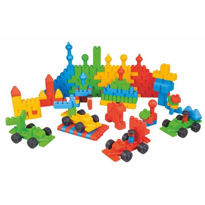 Beleduc TWINI Big Blocks - 300 Bausteine 1
