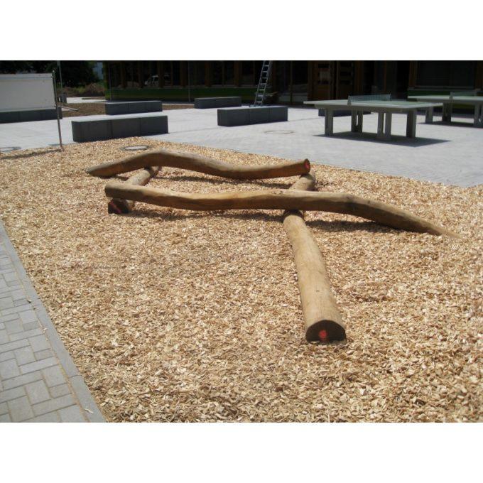Balancierzopf aus Robinien-Holz 2