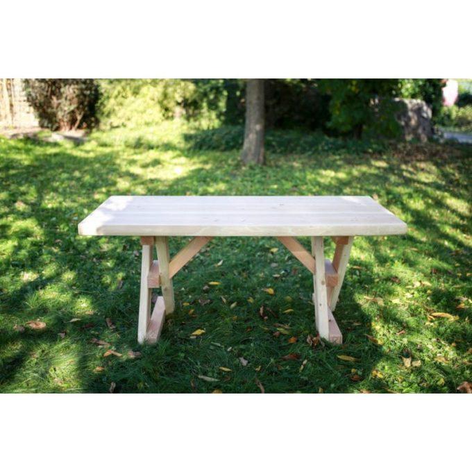 Erwachsenen-Garnitur aus Douglasien-Holz - montiert 4