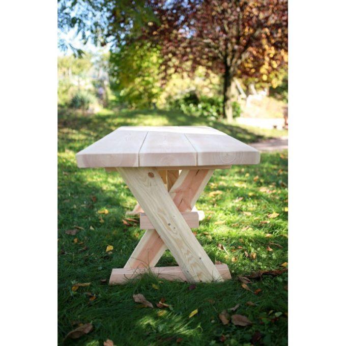 Erwachsenen-Garnitur aus Douglasien-Holz - montiert 5