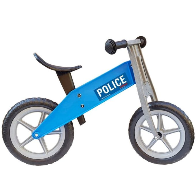 redtoys Laufrad Tourer Police in blau 1