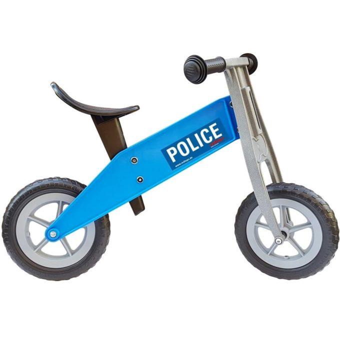 redtoys Laufrad Tourer-Mini Police in blau 1
