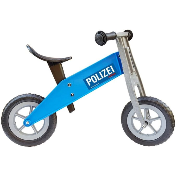 redtoys Laufrad Tourer-Mini Polizei in blau 1