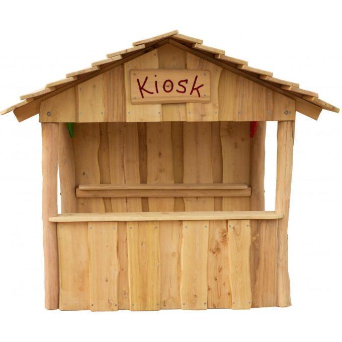 Spielhaus aus Robinien-Holz - Kiosk 1
