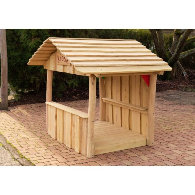 Spielhaus aus Robinien-Holz - Kiosk 3