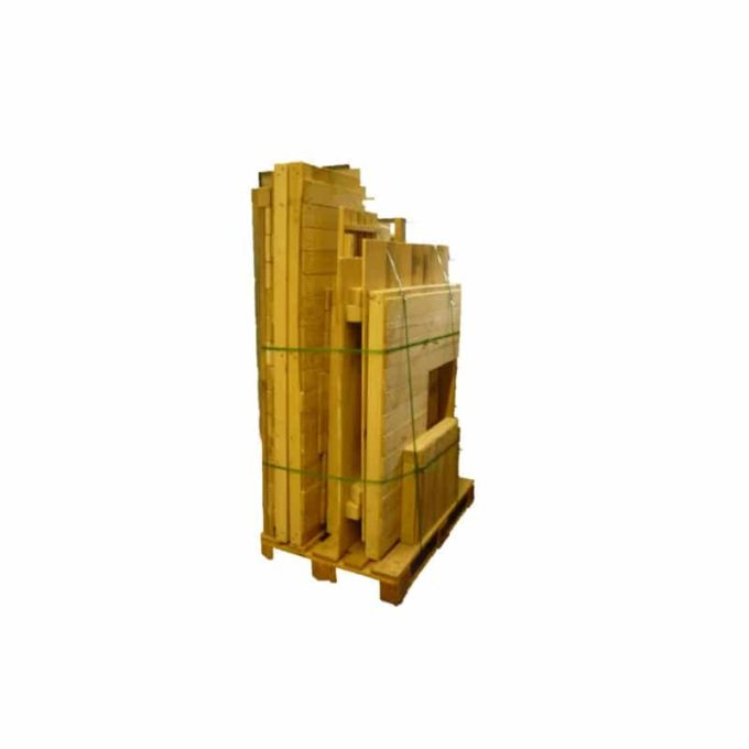 Spielhaus aus Robinien-Holz - Kiosk 5