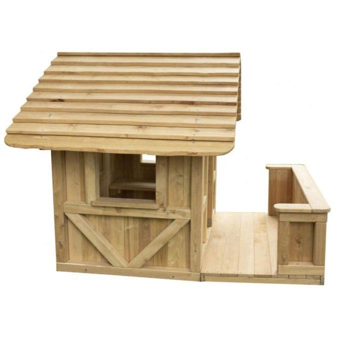 Spielhaus Robinchen - mit Terrasse 1