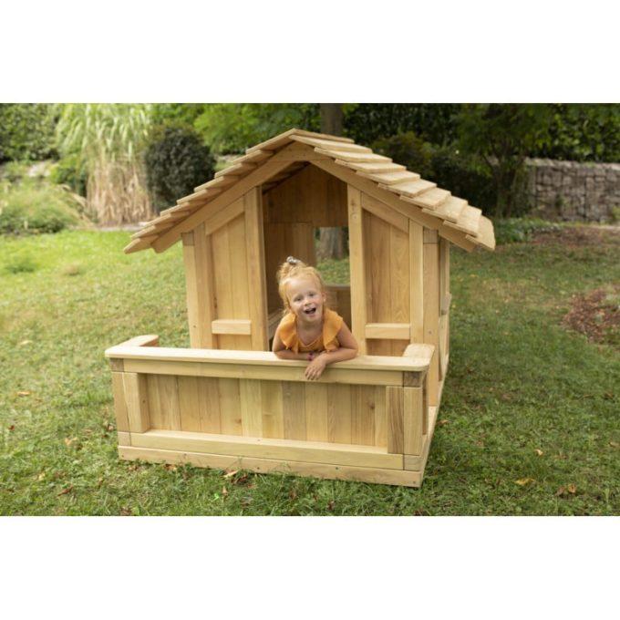 Spielhaus Robinchen - mit Terrasse 5