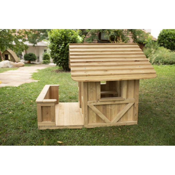 Spielhaus Robinchen - mit Terrasse 7
