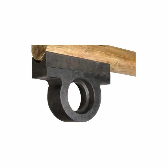 Wippe aus Robinien-Holz - für 2 oder 4 Kinder 5