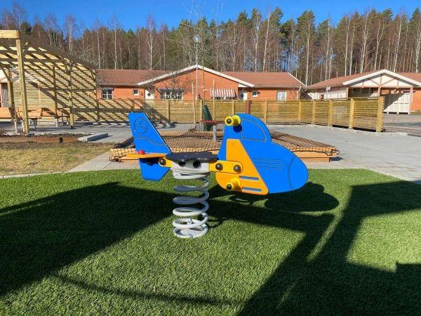 Lars Laj Federwippe Jet (Flugzeug) 3