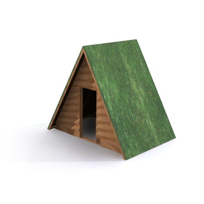 Lars Laj Kleines Haus mit Grasdach 1