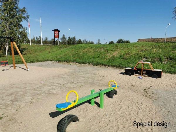 Lars Laj Schaukel für 2 Kinder 2