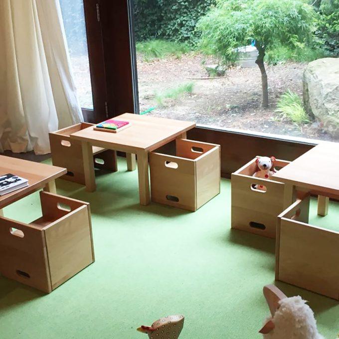 De Breuyn Wandelstuhl - Buche massiv - Kleinkindstühle U3-Bereich 4
