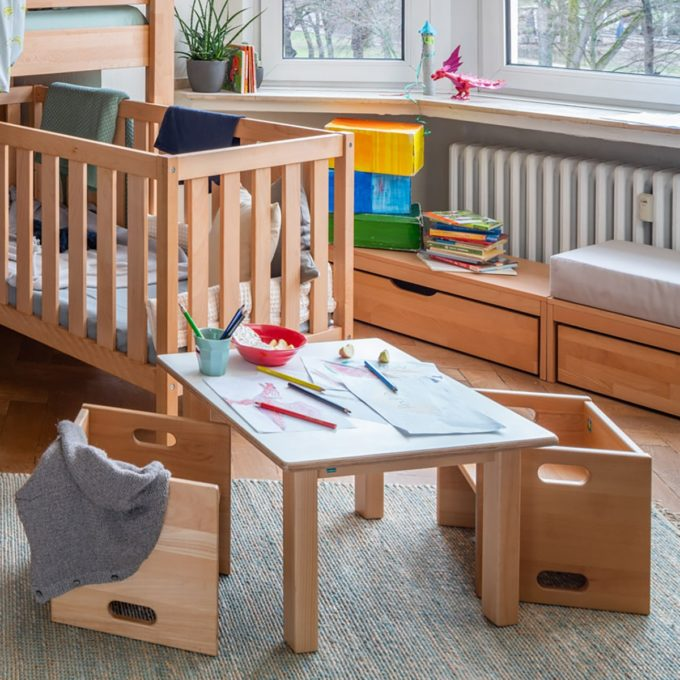 De Breuyn Wandelstuhl - Buche massiv - Kleinkindstühle U3-Bereich 6