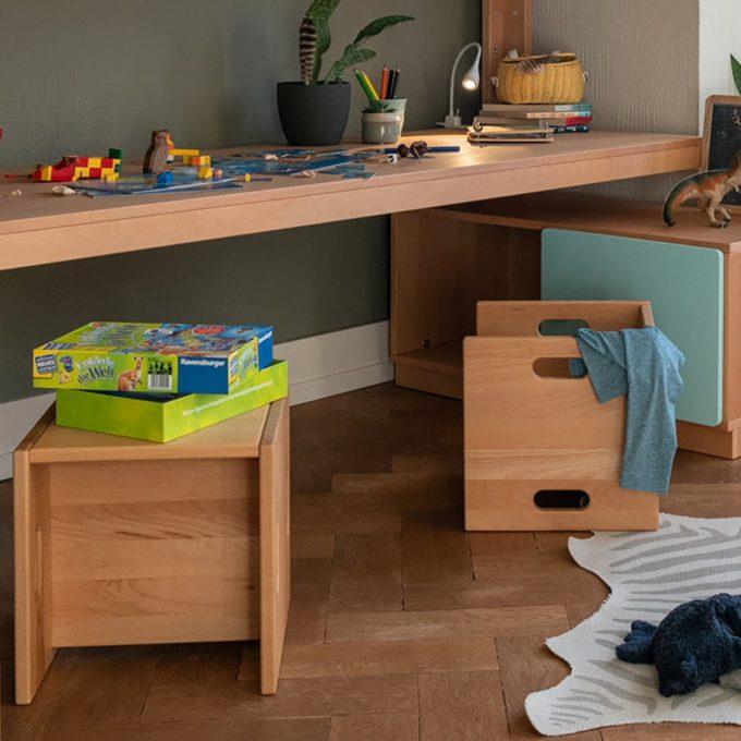 De Breuyn Wandelstuhl - Buche massiv - Kleinkindstühle U3-Bereich 7