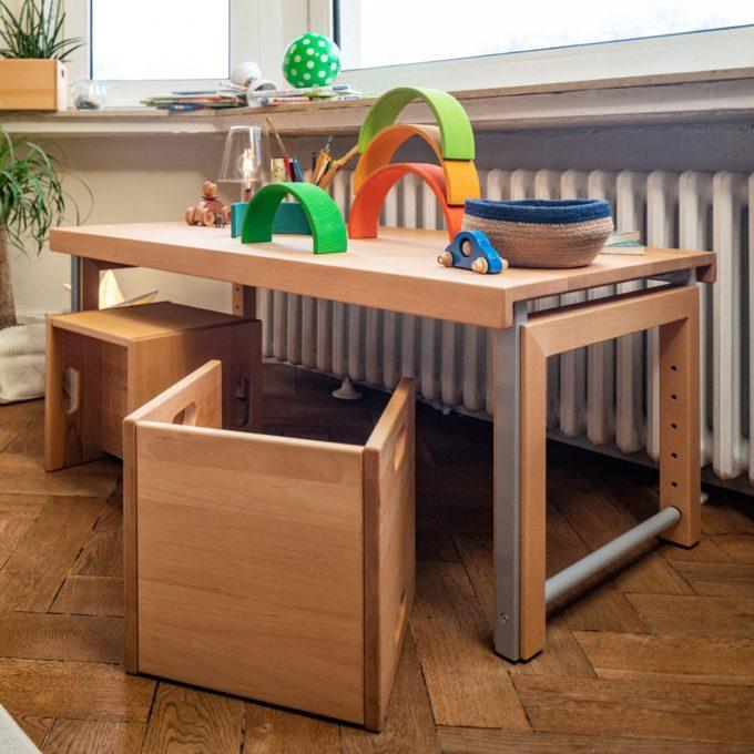 De Breuyn Wandelstuhl - Buche massiv - Kleinkindstühle U3-Bereich 8