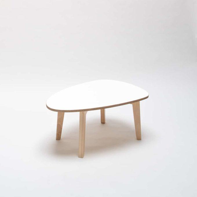 De Breuyn Tisch gerundete Dreieck-Form 60x90 cm 3