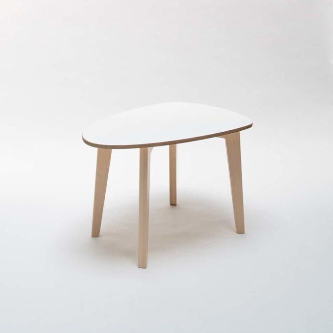 De Breuyn Tisch gerundete Dreieck-Form 60x90 cm 4