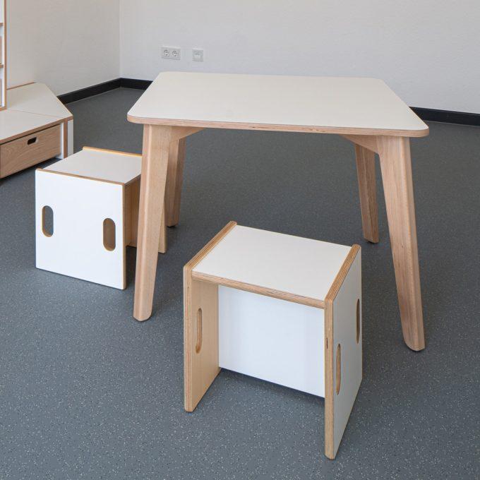 De Breuyn Tisch quadratisch 80x80 cm 10