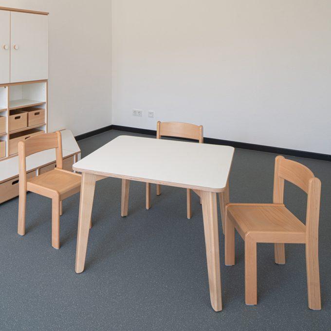 De Breuyn Tisch quadratisch 80x80 cm 9