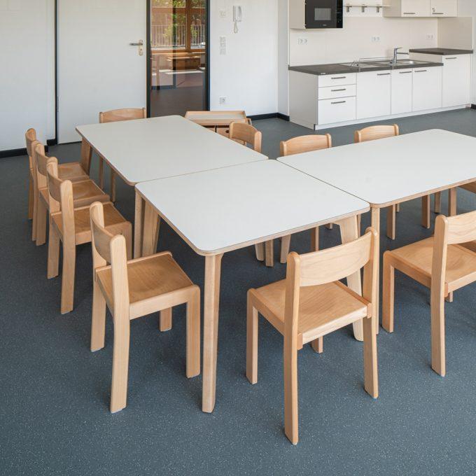 De Breuyn Tisch quadratisch 80x80 cm 8