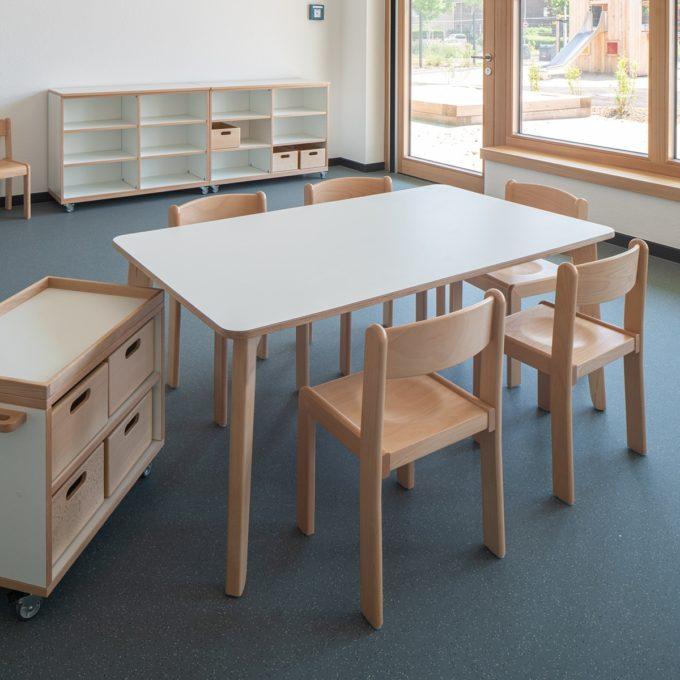 De Breuyn Tisch rechteckig 80x140 cm 9